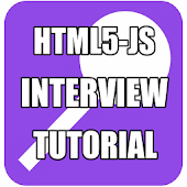 HTML5 JS Interview Tutorial