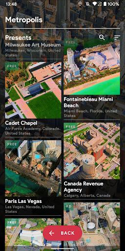 Metropolis 3D City Live Wallpaper [FREE] 🏙️ screenshot 7