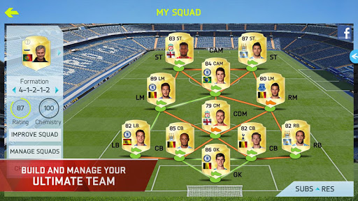 FIFA 15 Soccer Ultimate Team screenshot 9