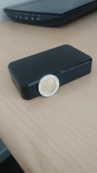 microcamera spia laterale moneta