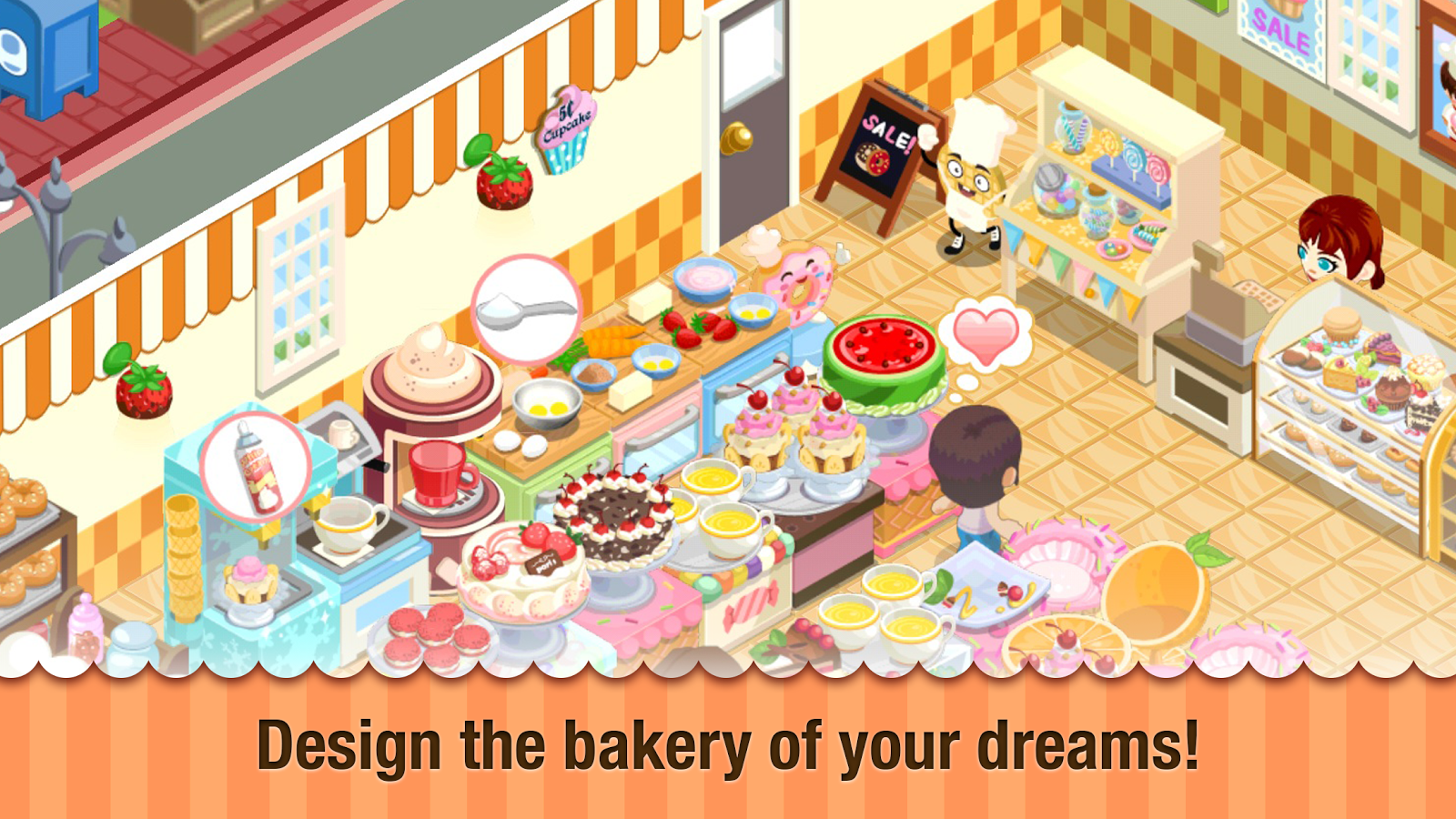 Bakery Story™- screenshot
