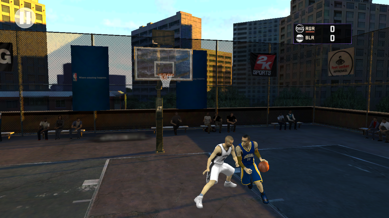 NBA 2K16- screenshot