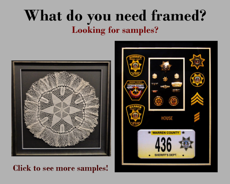 Samples of framing