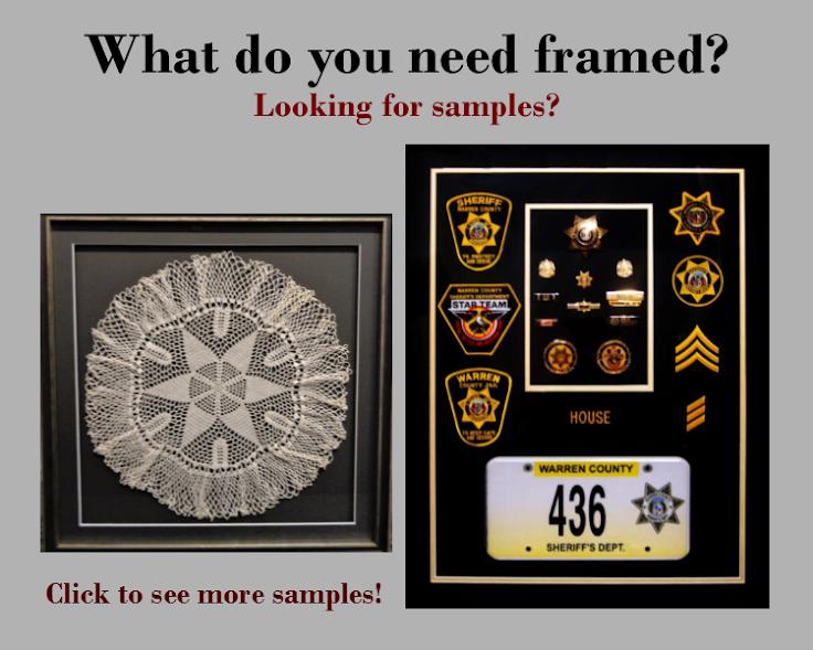 Samples of framing