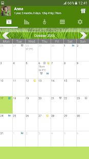 WomanLog Baby Calendar- screenshot thumbnail