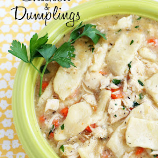 Old-Fashioned Chicken & Dumpling Noodles