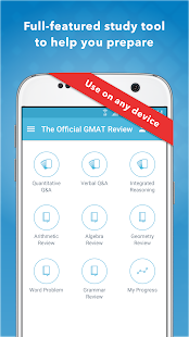 Official Guide for GMAT Review- screenshot thumbnail