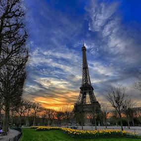 Paris by Luca Libralato - Buildings & Architecture Statues & Monuments ( paris, tour eiffel, tower, eiffel, france )
