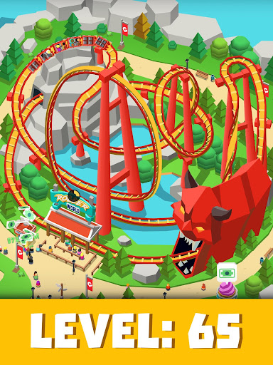 Idle Theme Park Tycoon - Recreation Game apkdebit screenshots 11