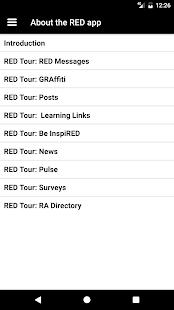 RED @ RA - náhled