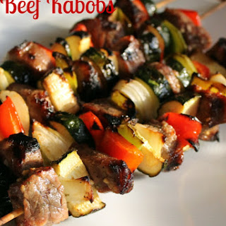 Beef Kabobs.
