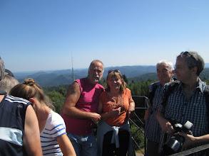 Photo: la tour du Wintersberg, panorama