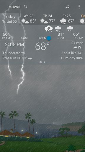 Awesome Weather - YoWindow screenshot 6