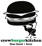 Logo for Crow Burger Kitchen