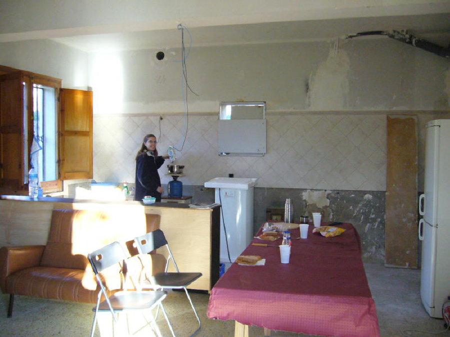 Photo: actual menjador - cuina