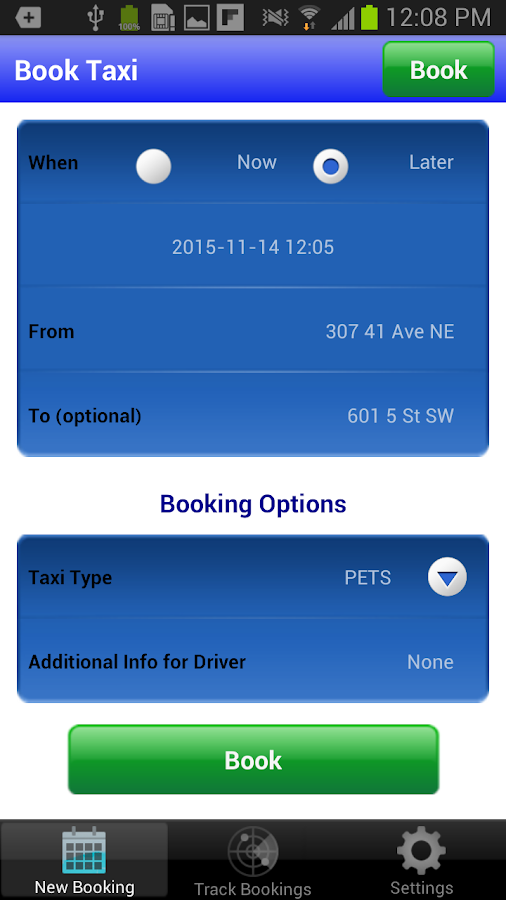 Associated Cabs Alta. Ltd- screenshot