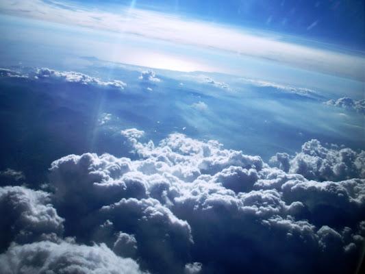 Nuvole dall'aereo di maggypilla