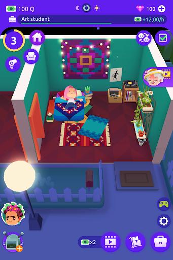 Idle Life Sim - Simulator Game android2mod screenshots 18