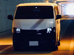 ハイエースバン GDH201V SUPER- GLのカスタム事例画像  箱バン☆200(KDH200V)さんの2018年05月07日09:26の投稿