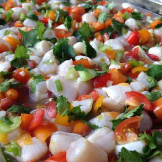 Heirloom Tomato & Scallop Ceviche