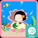 옥철이(바닷속세상) 카카오톡 테마 icon