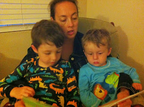Photo: Bed Time Story by Mommy