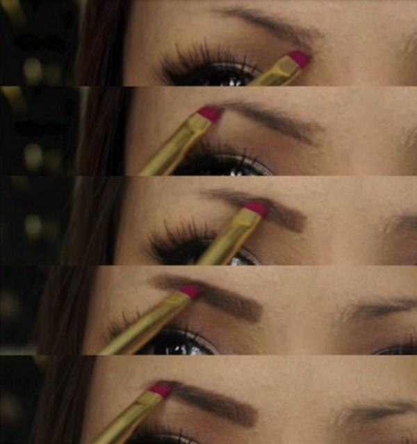 How To Make Up Eyebrow- screenshot