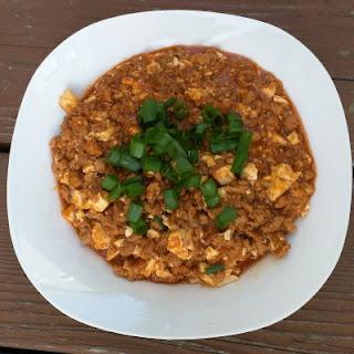 Gochujang Mapo Tofu