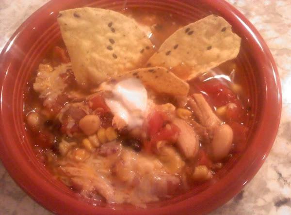 Southwest Chicken Soup Recipe