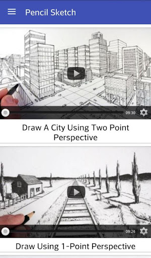 Pencil Sketch - Videos Screenshot