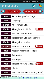 Taiwan Intercity Bus Timetable - náhled