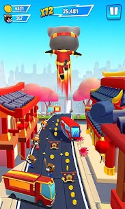 Talking Tom Hero Dash Run Game 1.5.0.833 MOD (Unlimited Money) 5