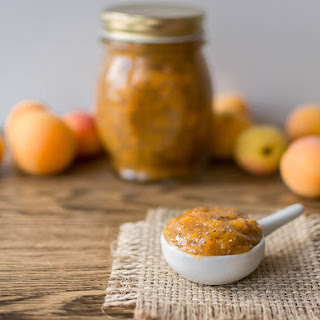 Raw Apricot Chia Jam