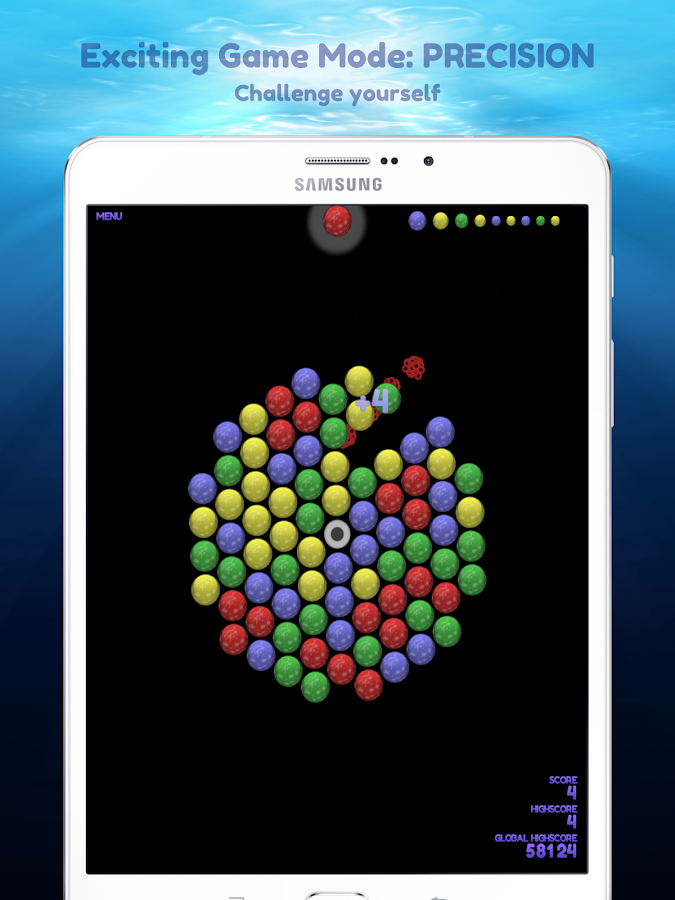 bubble shooter spinner