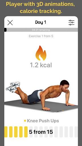 30 day challenge - CHEST workout plan 1.1.0 screenshots 3