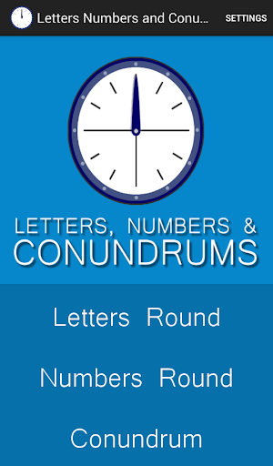 Letters Numbers and Conundrums