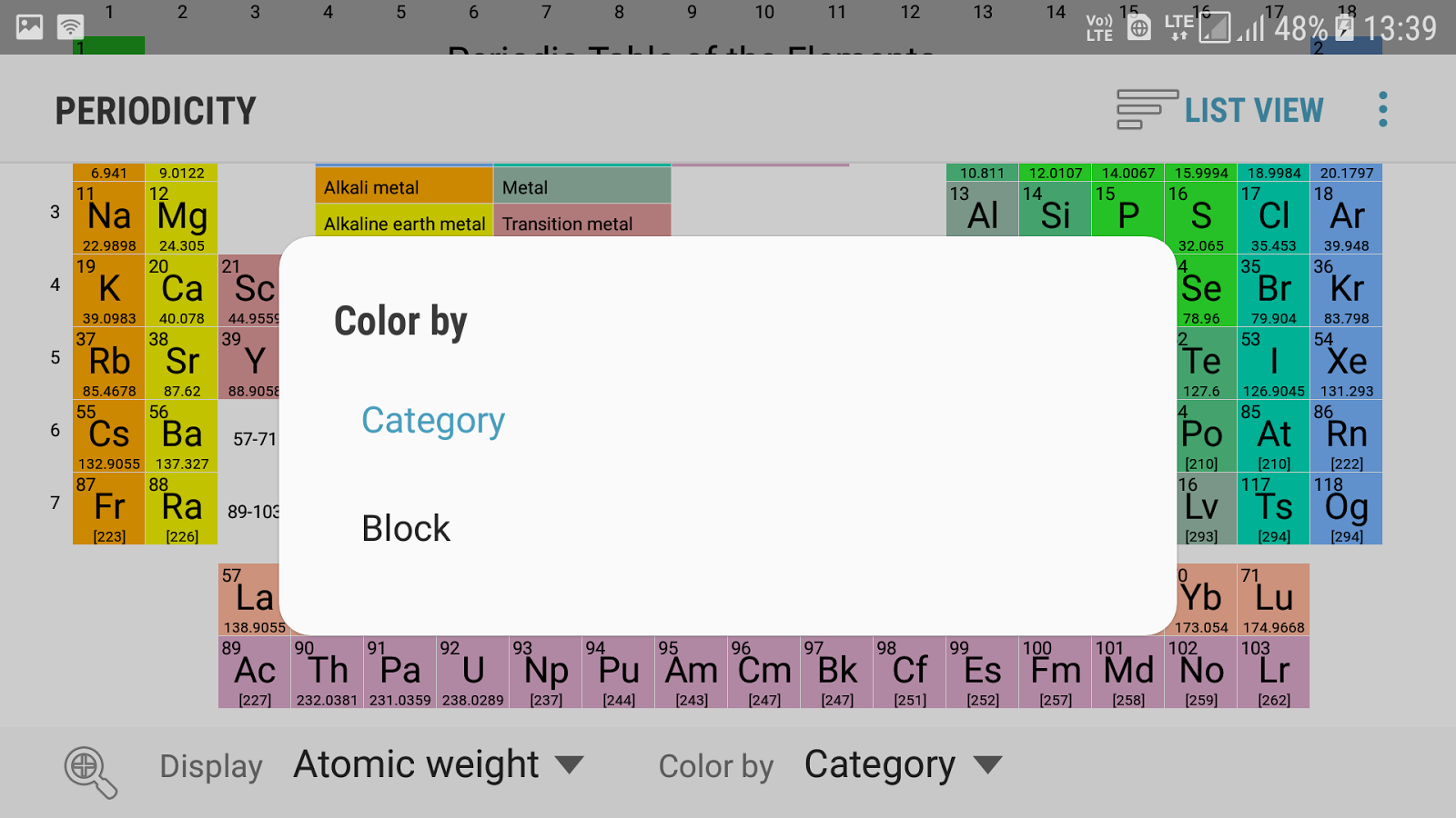 Best periodic table app android gallery periodic table and sample periodic table app for android tablet gallery periodic table and periodicity best periodic table chemistry app urtaz Image collections