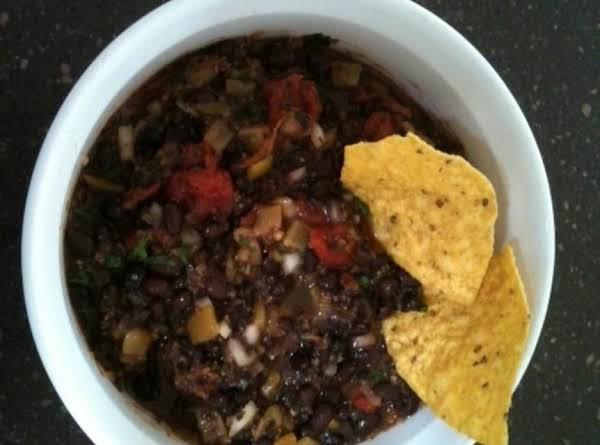 Easy Black Bean Salsa