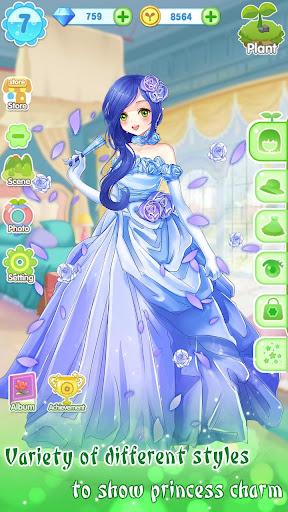 ud83dudc57ud83dudc52Garden & Dressup - Flower Princess Fairytale screenshots 17