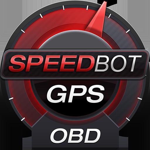 Speedbot. Free GPS/OBD2 Speedometer Icon