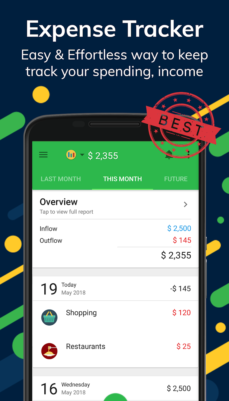 Money Lover: Budget App & Expense Tracker Screenshot 0