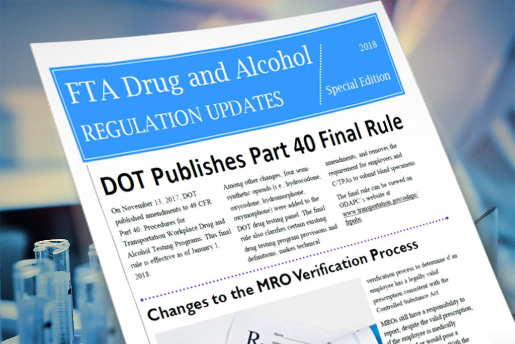 Drug & Alcohol Regulation Updates for 2018 – Alia Drug Testing