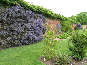 Photo: The garden at Felbrigg Hall, a Jacobean house now owned by the National Trust.