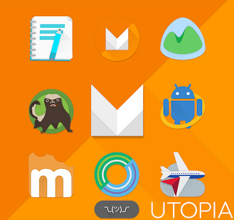 UTOPIA - Icon Pack - screenshot thumbnail