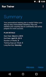 MapMyRun Trainer screenshot