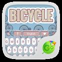 Bicycle Keyboard Theme &Emoji icon