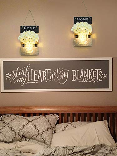 Add Sparkle with Flower for Your Bedroom Wall