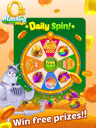 Matching Magic: Oz - Match 3 Jewel Puzzle Games screenshot 13