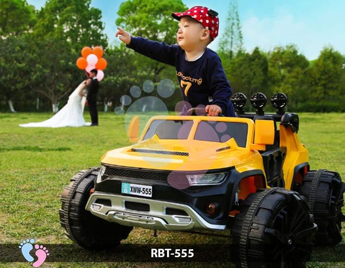 Xe ô tô điện địa hình cỡ lớn RBT-555 3
