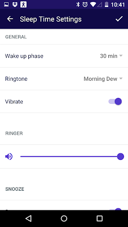 Sleep Time Smart Alarm Clock 1.0.580 screenshot 108339